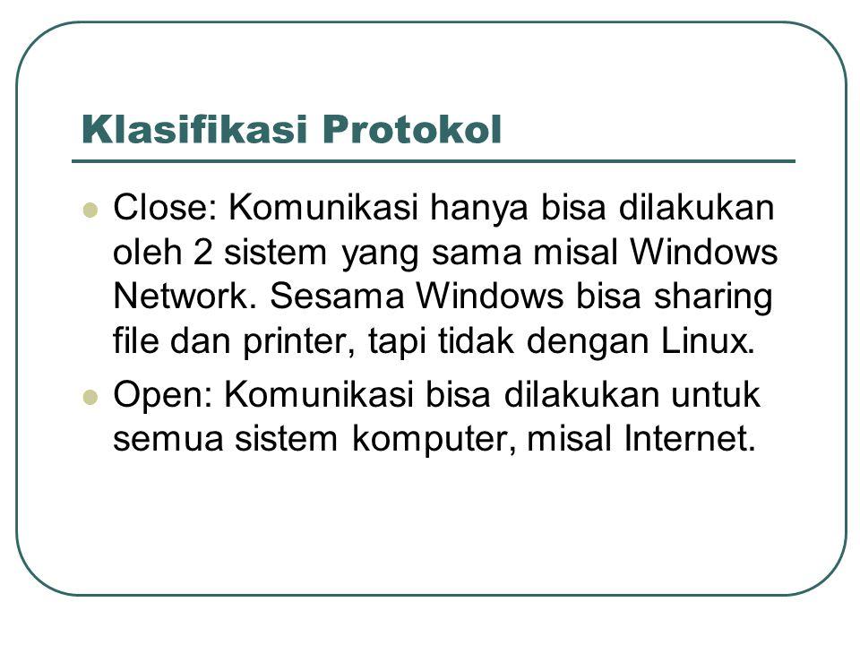 Klasifikasi Protokol