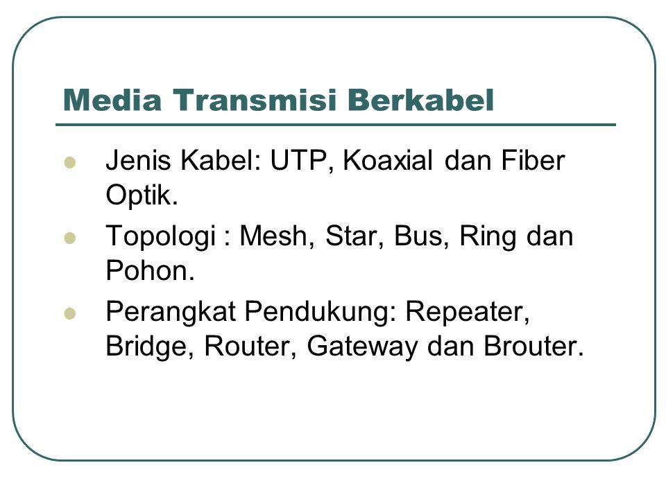 Media Transmisi Berkabel