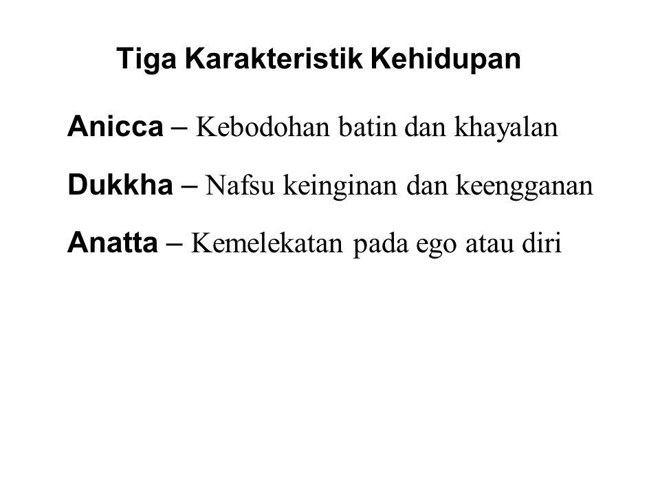 Tiga Karakteristik Kehidupan