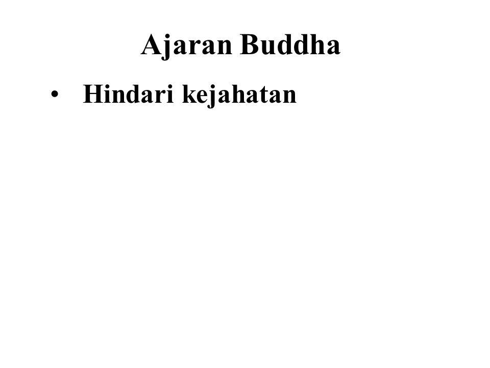 Ajaran Buddha Hindari kejahatan Do good Purify our minds