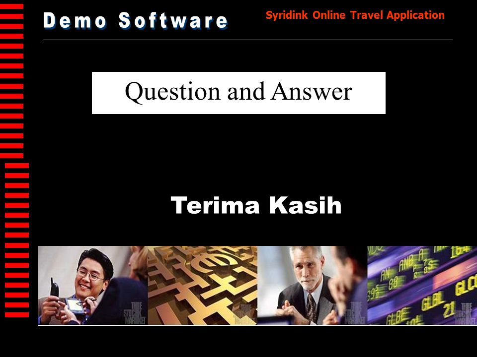 Demo Software Question and Answer Terima Kasih