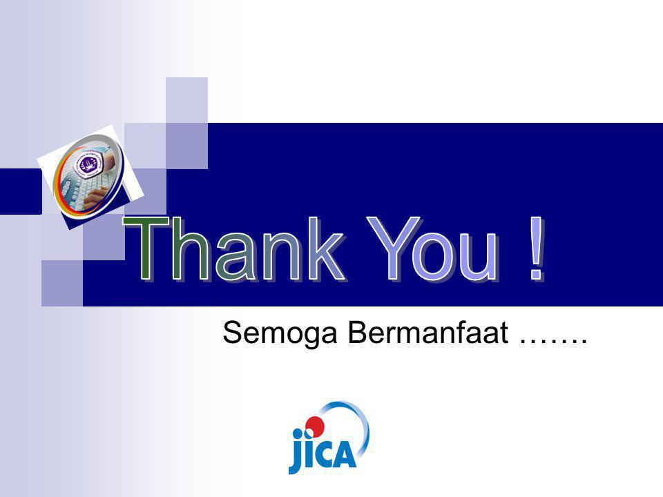 Thank You ! Semoga Bermanfaat …….