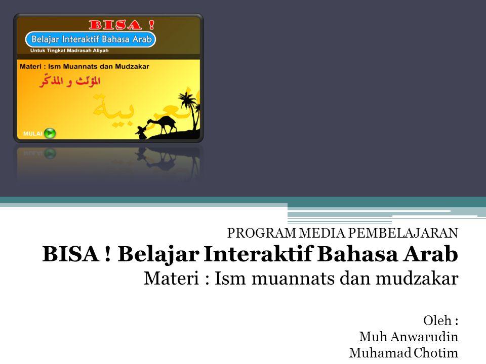 BISA ! Belajar Interaktif Bahasa Arab