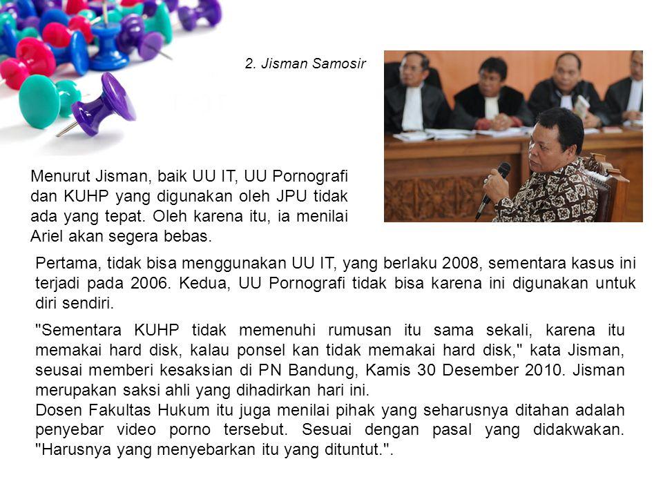 2. Jisman Samosir