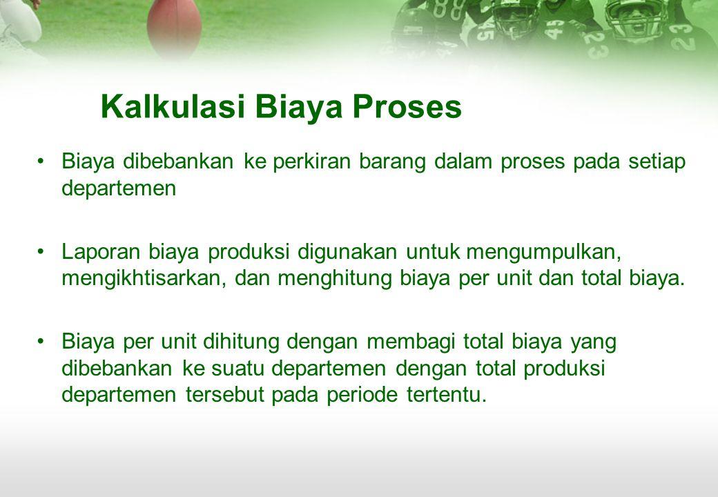 Kalkulasi Biaya Proses
