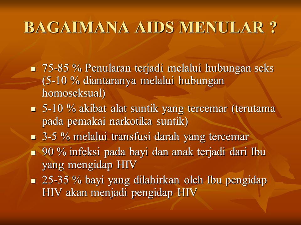 BAGAIMANA AIDS MENULAR