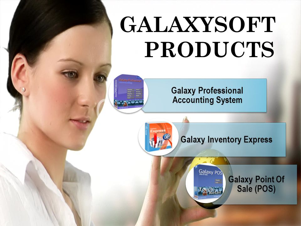 GALAXYSOFT PRODUCTS Galaxy Professional Accounting System