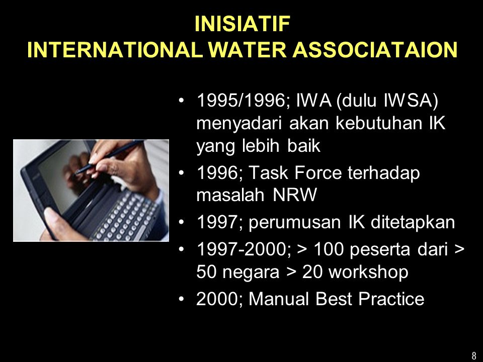 INISIATIF INTERNATIONAL WATER ASSOCIATAION