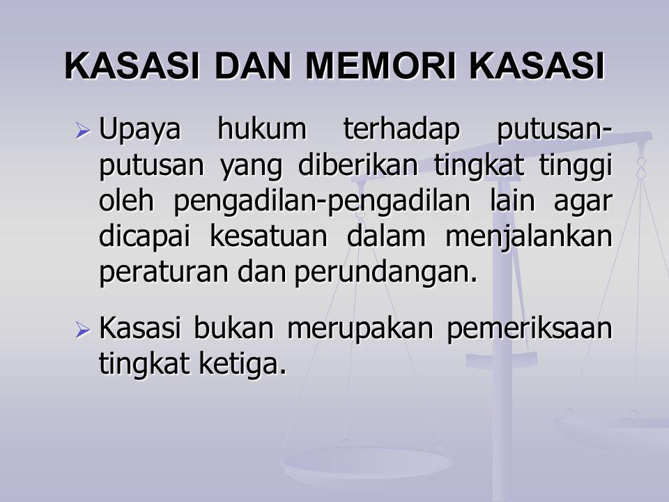 KASASI DAN MEMORI KASASI