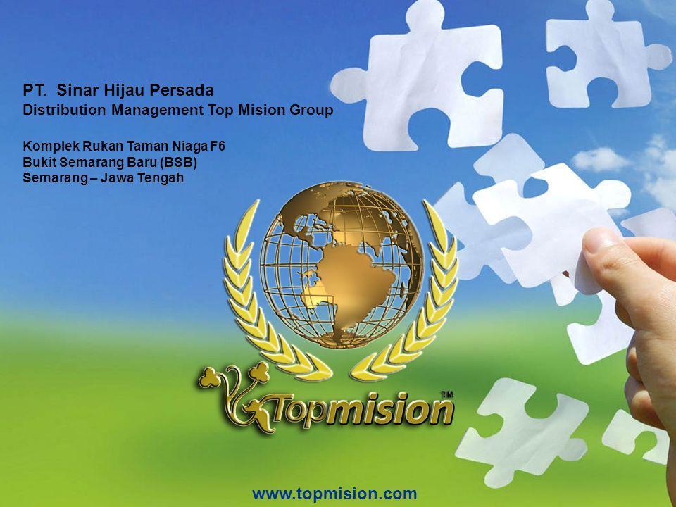 PT. Sinar Hijau Persada www.topmision.com