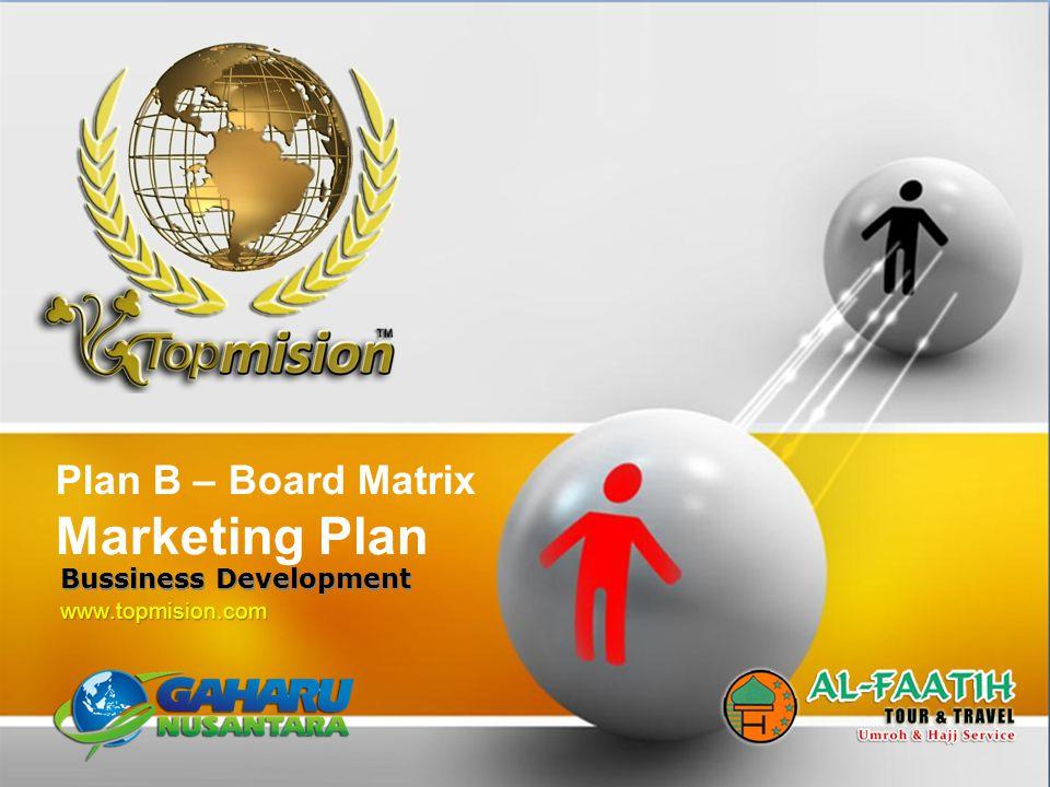 Marketing Plan Plan B – Board Matrix Bussiness Development