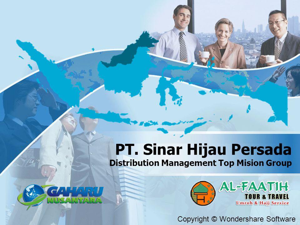 PT. Sinar Hijau Persada Distribution Management Top Mision Group