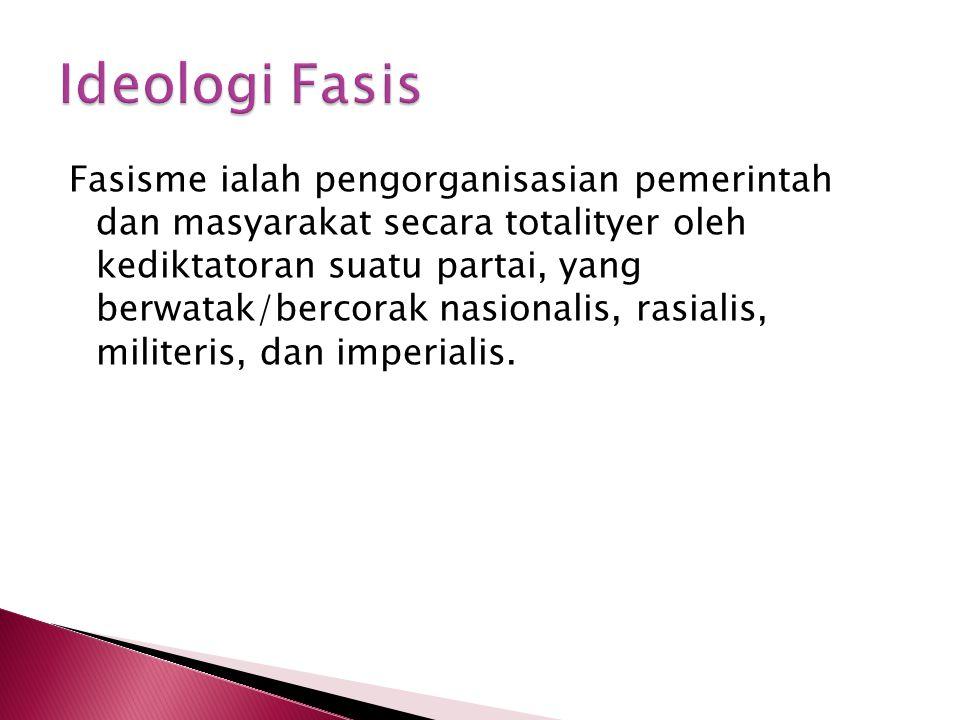 Ideologi Fasis