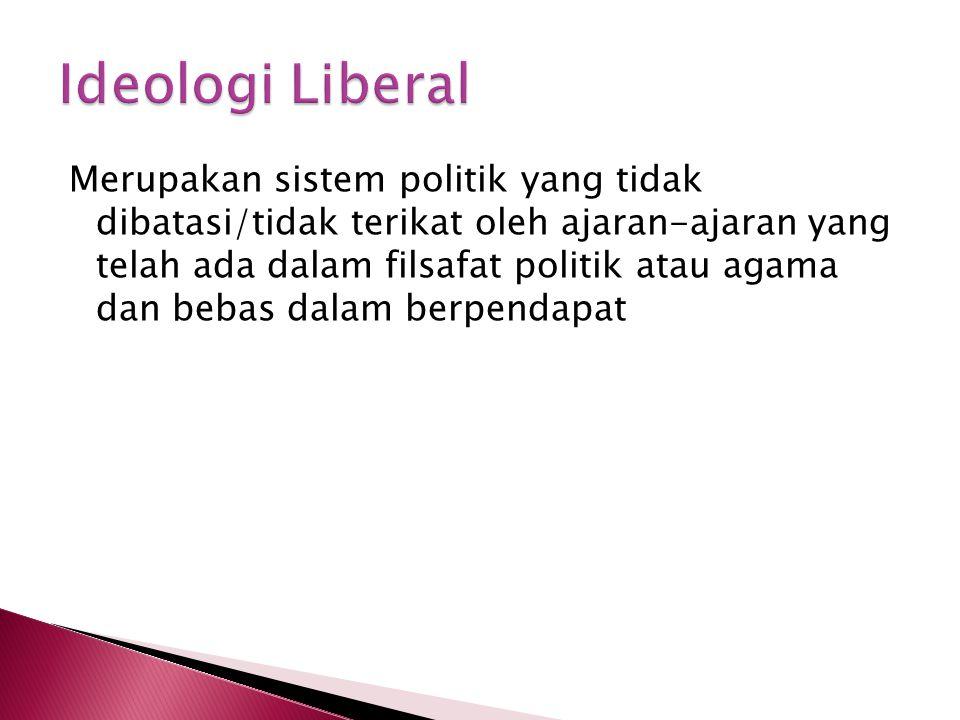 Ideologi Liberal