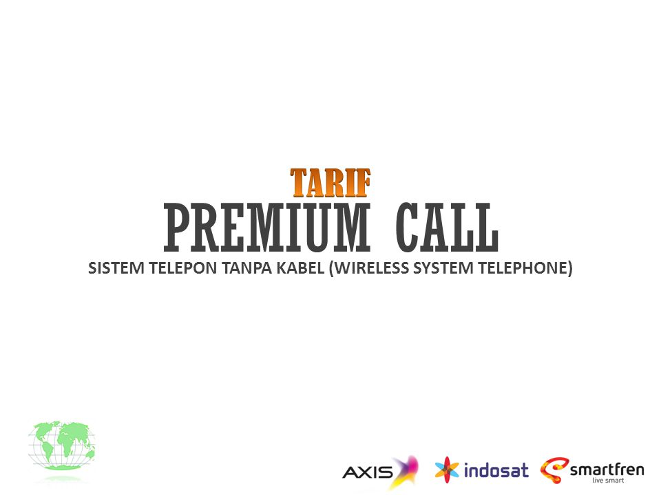 SISTEM TELEPON TANPA KABEL (WIRELESS SYSTEM TELEPHONE)