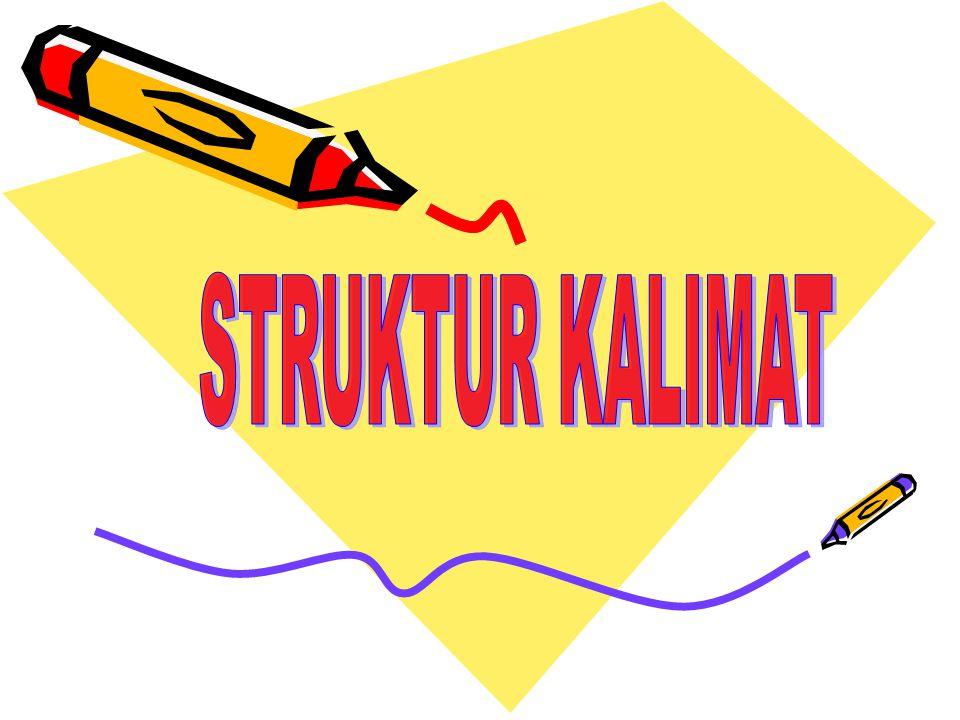 STRUKTUR KALIMAT