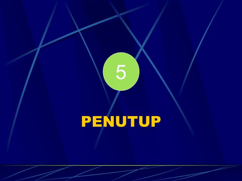 5 PENUTUP