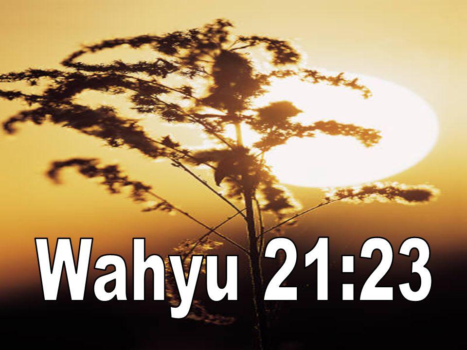 Wahyu 21:23
