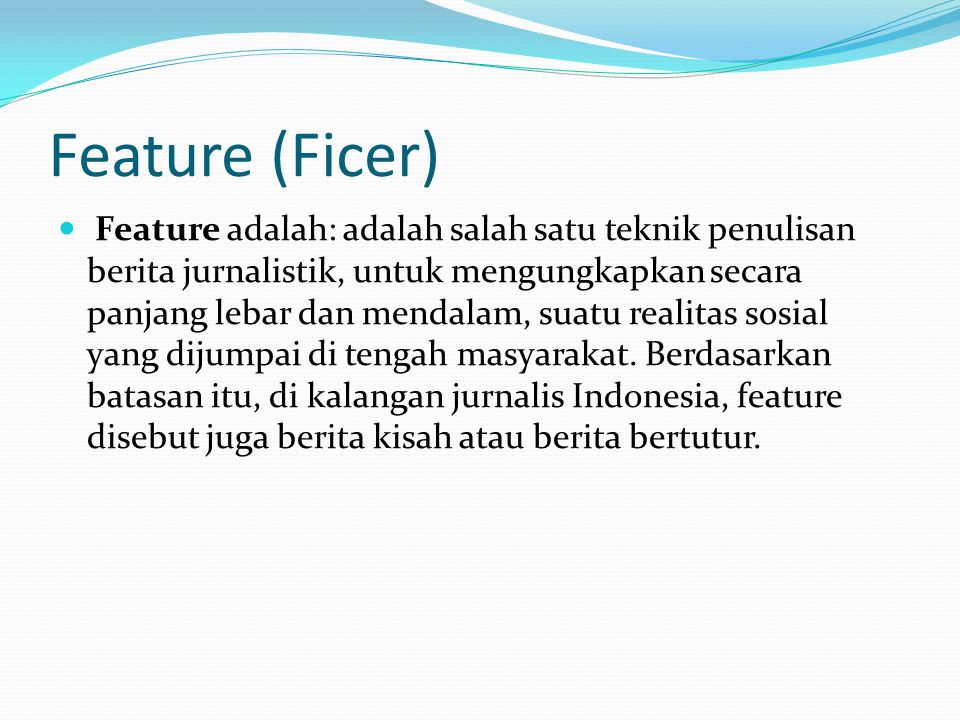 Feature (Ficer)
