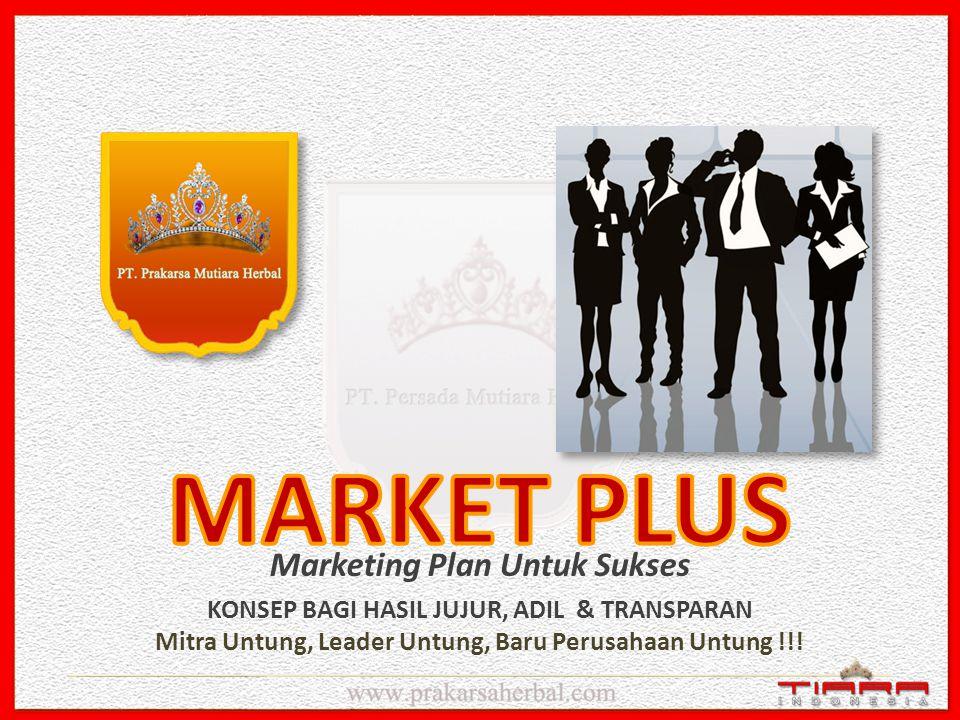 MARKET PLUS Marketing Plan Untuk Sukses