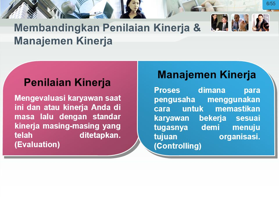 Membandingkan Penilaian Kinerja & Manajemen Kinerja