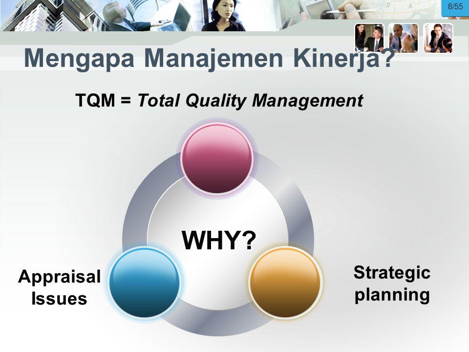 Mengapa Manajemen Kinerja