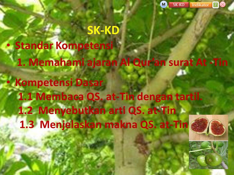 SK-KD Standar Kompetensi 1. Memahami ajaran Al Qur'an surat At -Tin