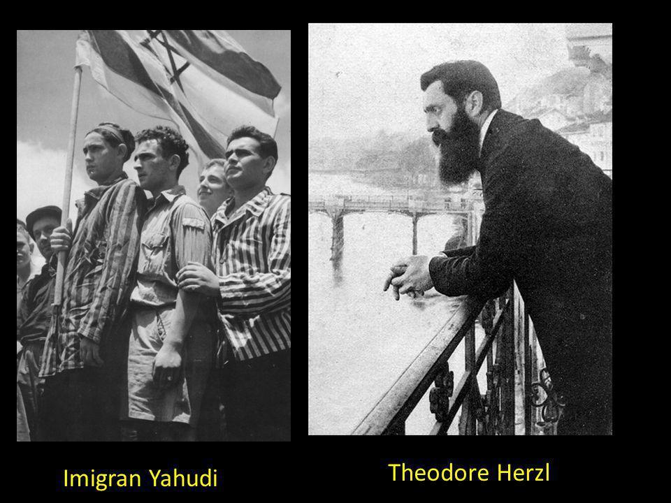 Theodore Herzl Imigran Yahudi