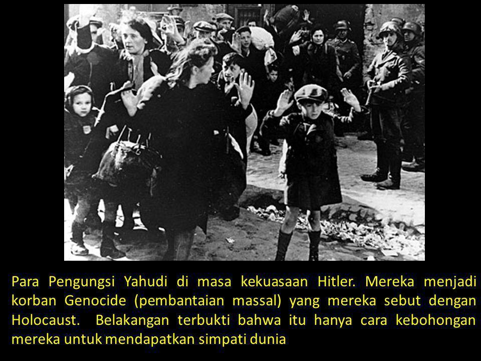 Para Pengungsi Yahudi di masa kekuasaan Hitler