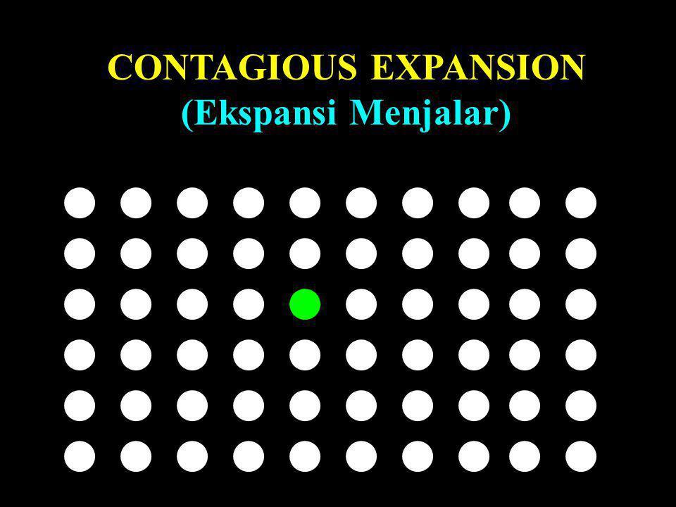 CONTAGIOUS EXPANSION (Ekspansi Menjalar)