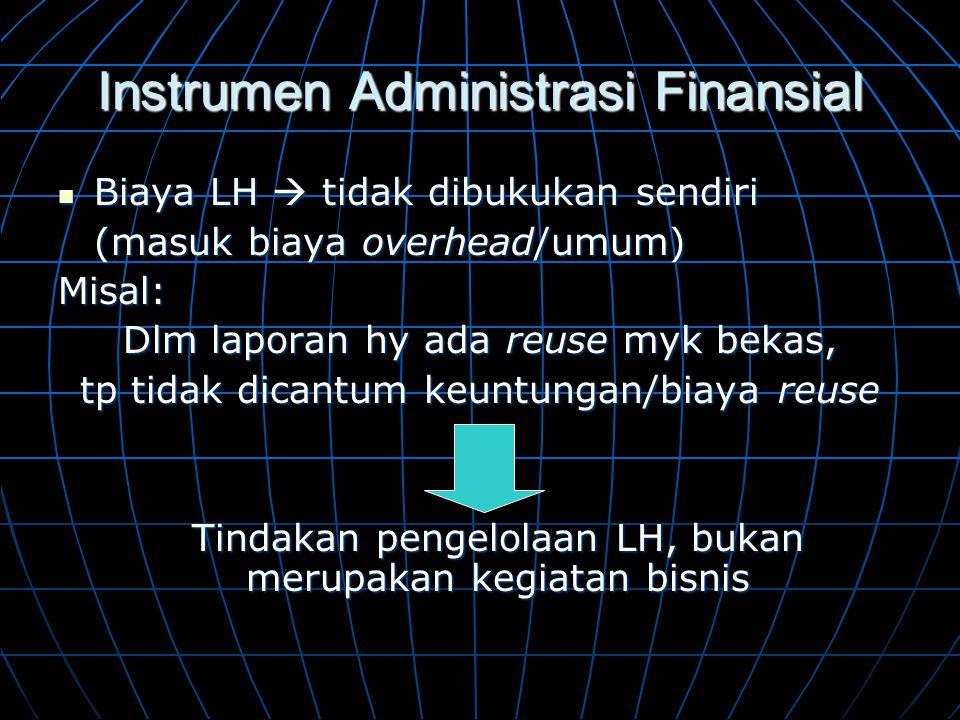 Instrumen Administrasi Finansial
