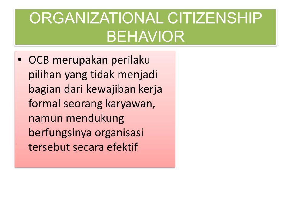 organizational citizenship behavior thesis University of south florida scholar commons graduate theses and dissertations graduate school 2005 organizational citizenship behavior: a career development.