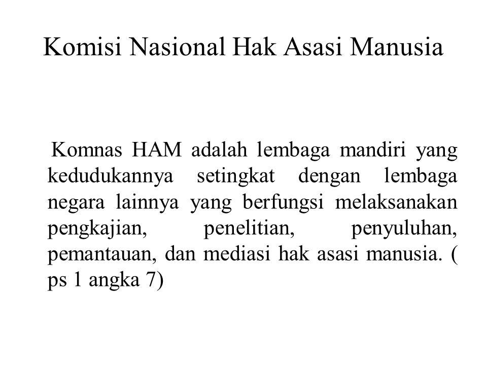 Komisi Nasional Hak Asasi Manusia
