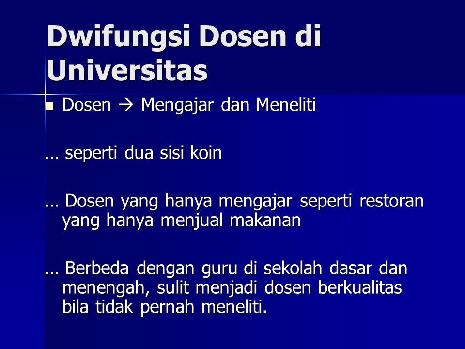 Dwifungsi Dosen di Universitas