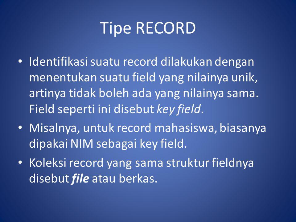Tipe RECORD