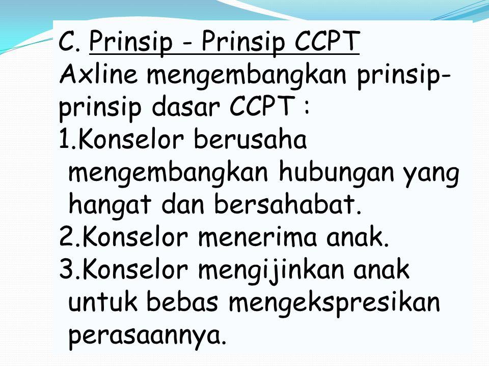 C. Prinsip - Prinsip CCPT