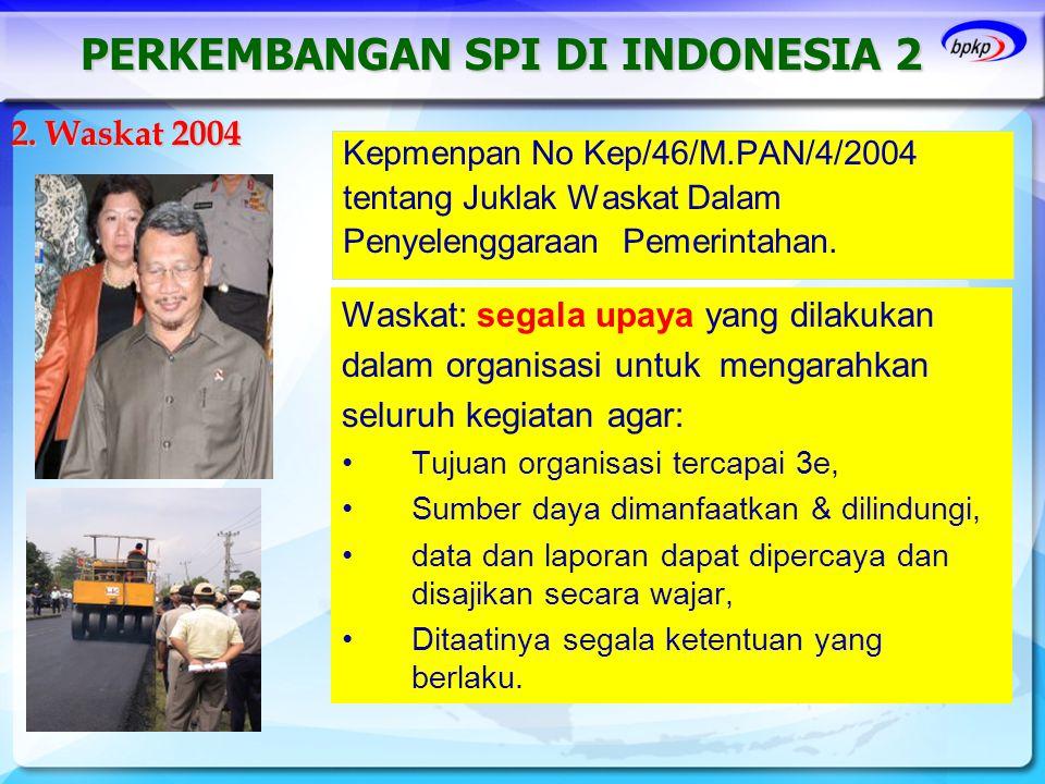 PERKEMBANGAN SPI DI INDONESIA 2