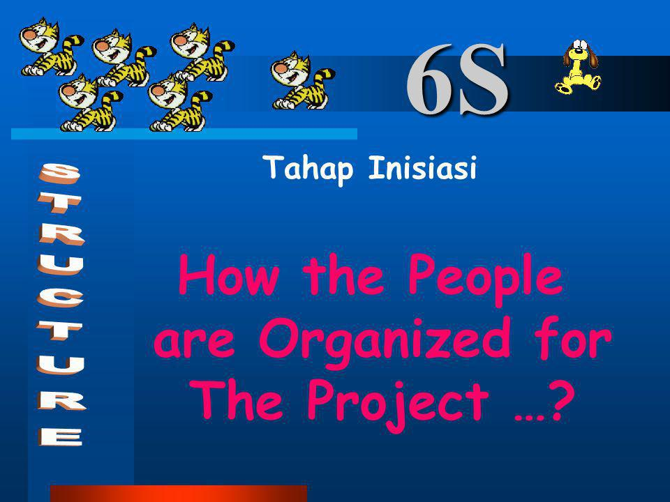 How the People are Organized for The Project …
