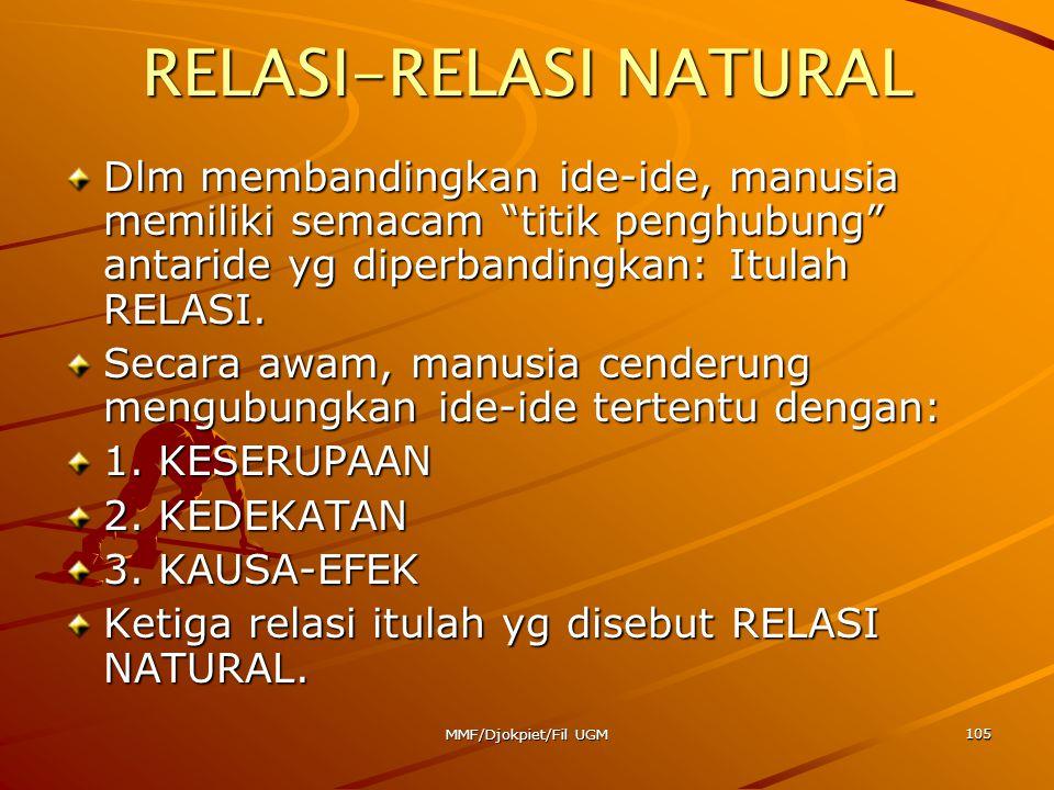 RELASI-RELASI NATURAL