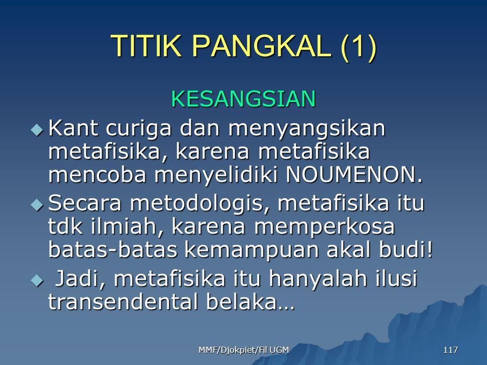 TITIK PANGKAL (1) KESANGSIAN