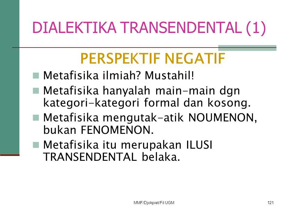 DIALEKTIKA TRANSENDENTAL (1)