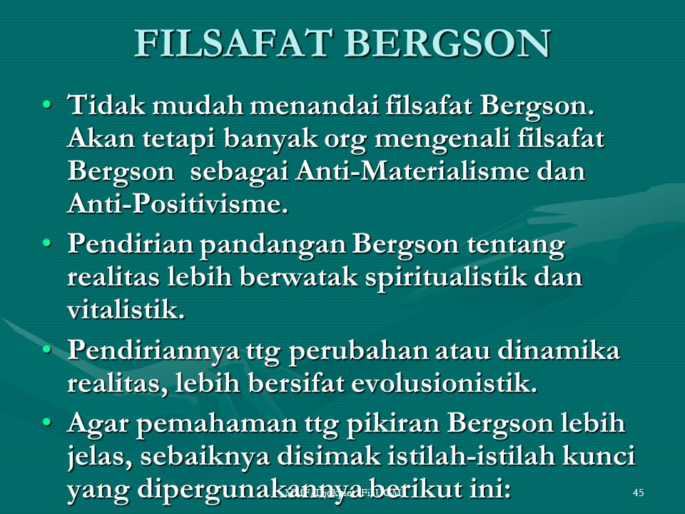 FILSAFAT BERGSON