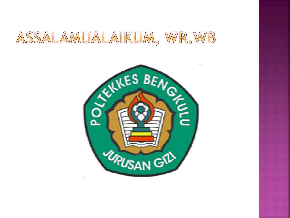 ASSALAMUALAIKUM, WR.WB