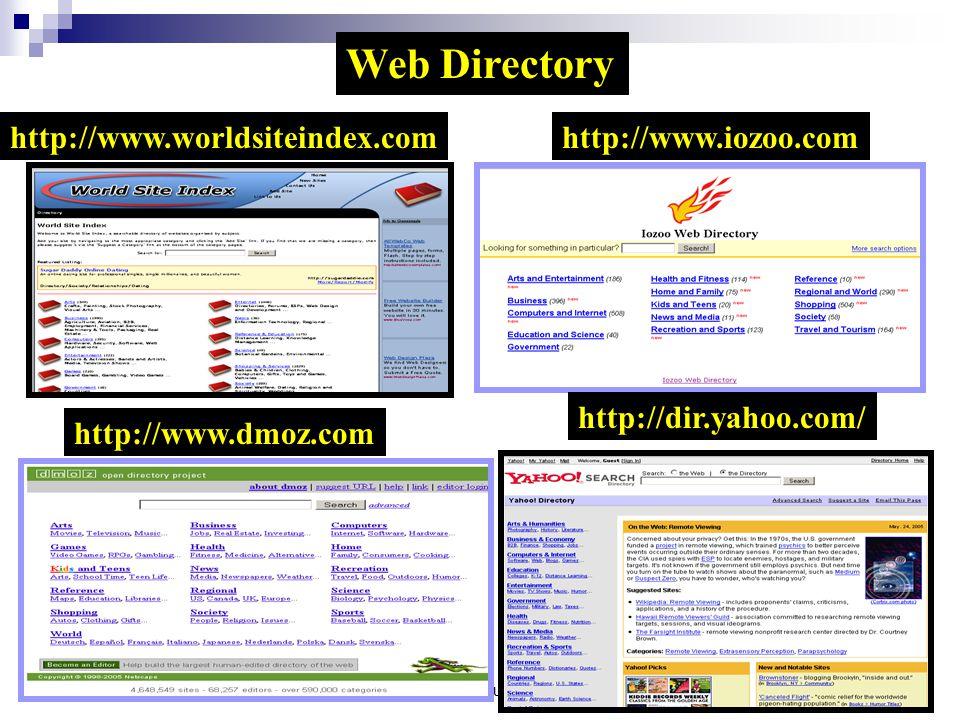 Web Directory http://www.worldsiteindex.com http://www.iozoo.com