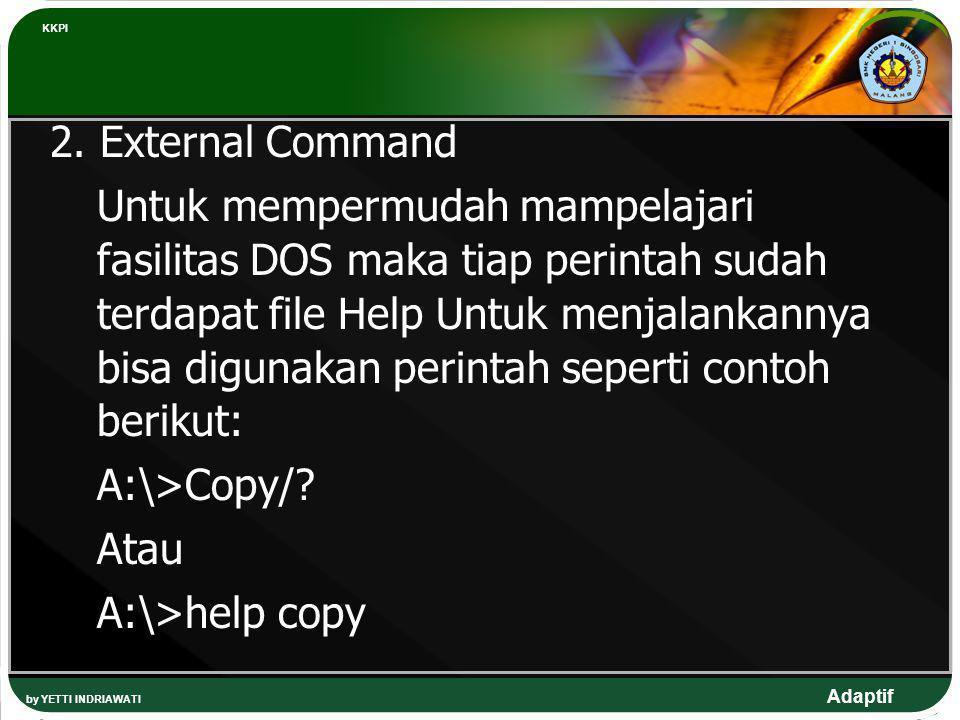 KKPI 2. External Command.
