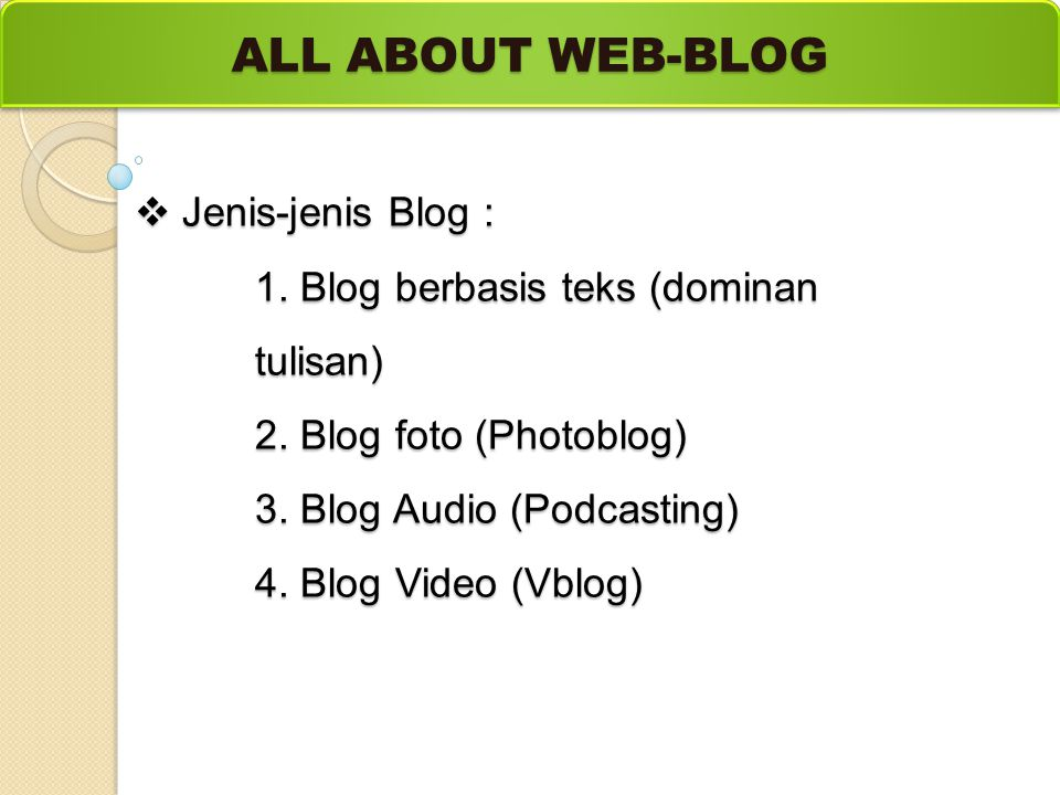 ALL ABOUT WEB-BLOG