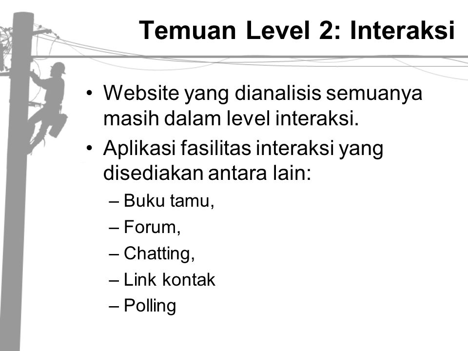 Temuan Level 2: Interaksi
