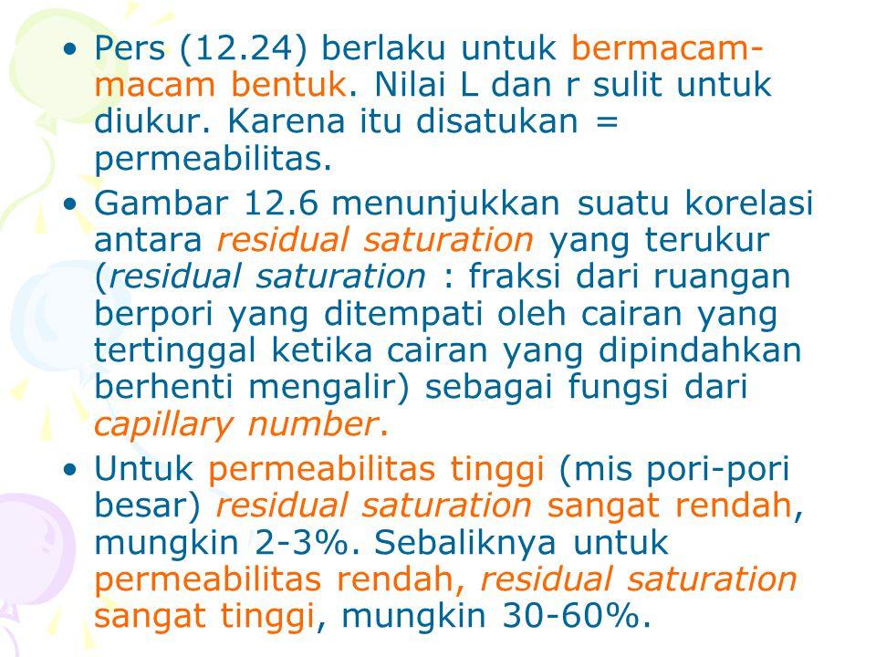 Pers (12. 24) berlaku untuk bermacam-macam bentuk