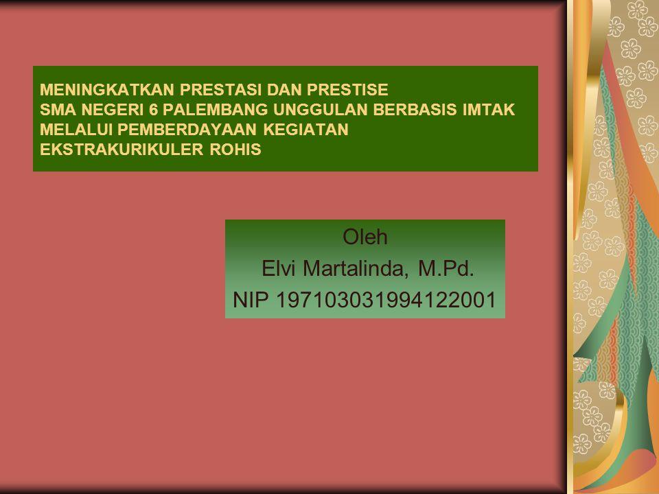 Oleh Elvi Martalinda, M.Pd. NIP 197103031994122001