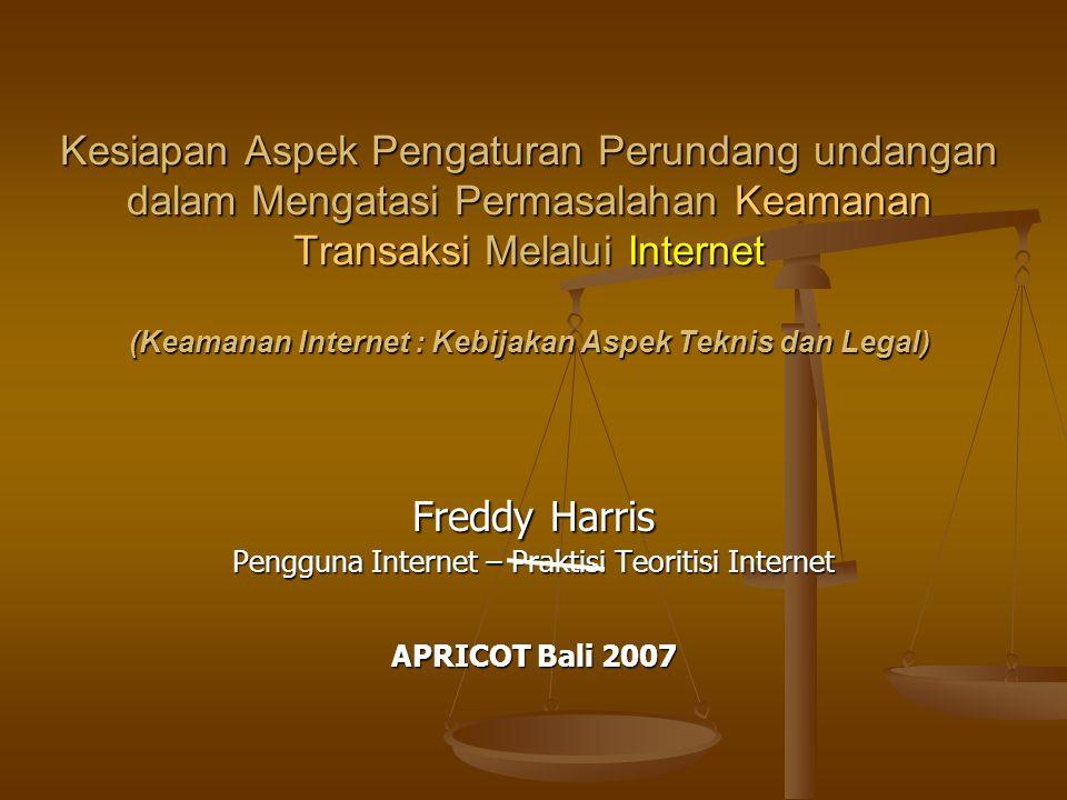 Pengguna Internet – Praktisi Teoritisi Internet